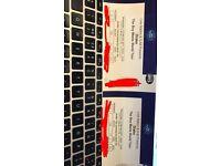 Drake Ticket London 02, Block 108, Row U, Seats 231-232