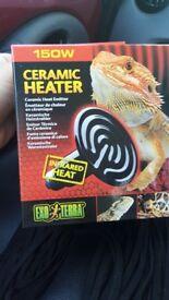 Ceramic heater 150w ceramic heater 60w Brand new in boxes