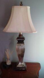 Tall Table Lamp & Storage Box