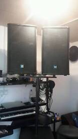 L2audio speakers and bass sub passive system designed on nexo