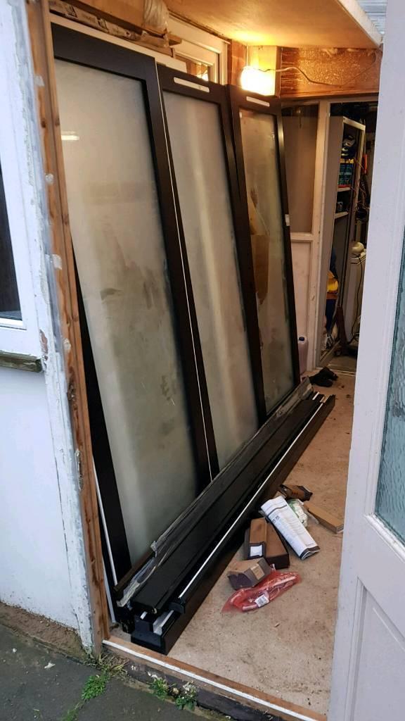 Hardwood Timber Bifold Patio Doors In Melton Mowbray