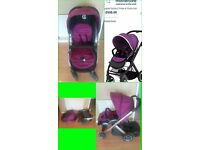 ***BARGAIN*** £80 Oyster Pushchair Or Mothercare Stroller £30 ono OYSTER PUSHCHAIR IN GRAPE