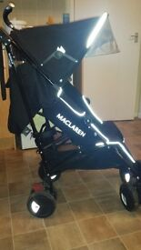 Maclaren techno xt. Used but very good condition. Comes with rain cover