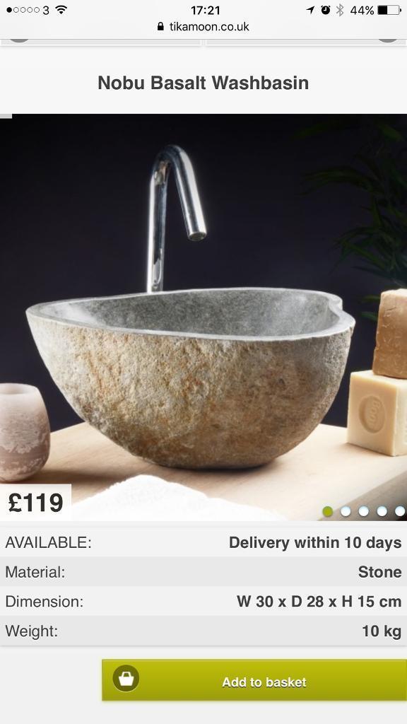 Bathroom Sinks Gumtree stone sink | in stocksfield, northumberland | gumtree
