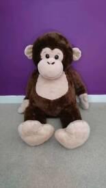 Large cuddly monkey