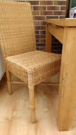 Wicker chairs for sale