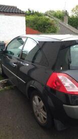 Renault Megane for parts or repair