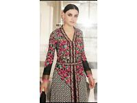 Asian Pakistani designer ladies unstitched suits