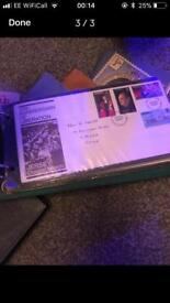 First Day Cover Stamps approx 100