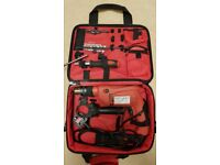 Europro 600W corded power drill in carry bag with tools as pictured