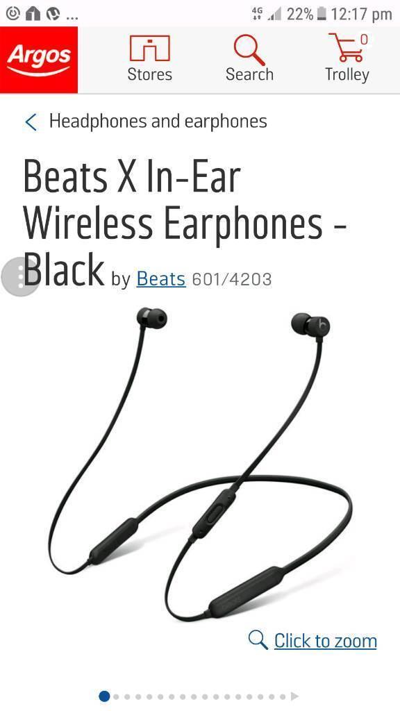 Beats wireless x