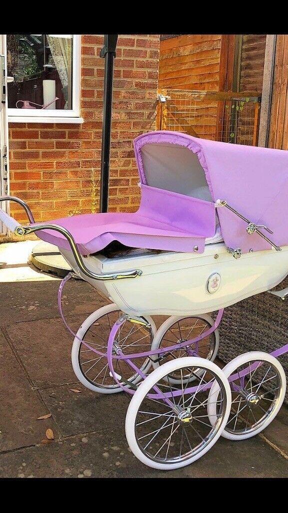 96c71289a445 Silver cross purple limited edition snow fairy dolls pram