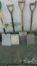 4x shovels