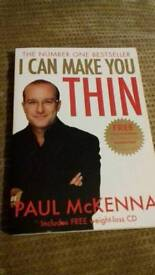 Paul McKenna I Can Make You Thin book and hypnosis cd