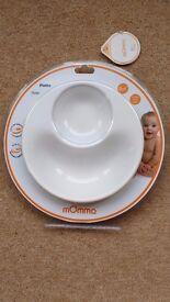 Momma Anti tip baby feeding weaning bowl (new)
