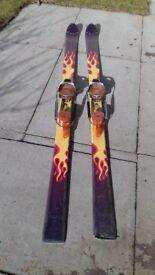 Telemark skis. Haggan devil with rotofella cobra bindings
