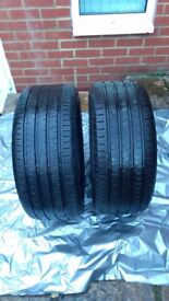 235/45/R17 Bravuris GoodYear Make Tyres Good Condition Set of 2