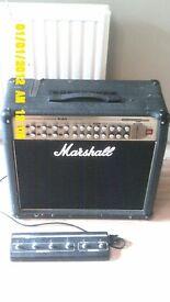 Marshall AVT 150 watt combo amp with foot switch £100 ono