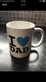 Brand-new I love dad Mug