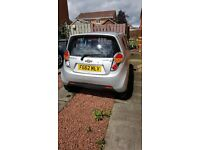 chevrolet spark 1.2 low mileage 2012