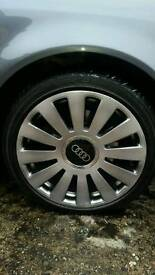 5x100 5x112 multifit 18s with new tyres suit vw audi seat skoda
