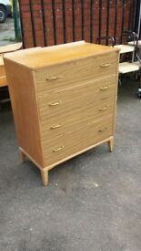 Vintage retro chest of drawers Antiques 2 sculcoates lane hull