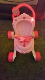 Princess walker stroller