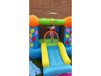 Bouncing Castle with a slide