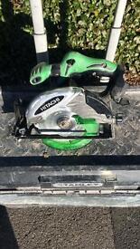 Hitachi cordless circular saw