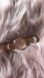 Armani exchange watch rose gold