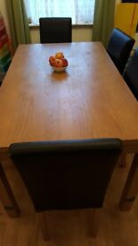 ***FREE*** DINING TABLE AND 6 CHAIRS