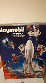 Playmobil City Action Space Rocket Station Unopened