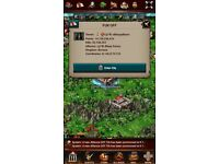 Game of War 14Bil account in Ancient Kingdom