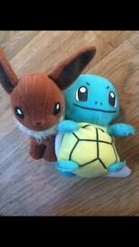 Pokemon soft toys