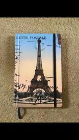 Paris Journal with Eiffel Tower