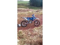 yamaha wr250f 250 2009 model on 58 plate enduro bike ktm crf etc
