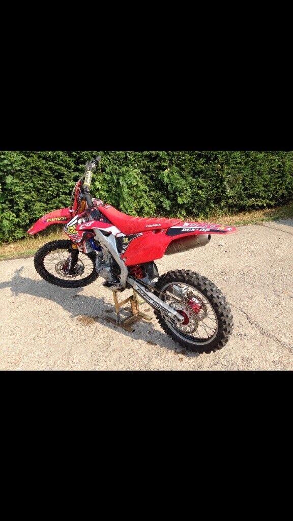 Honda Crf 250 Motor Cross Bike In Driffield East Yorkshire Gumtree