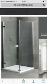 New boxed shower screen.