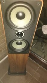 Q Acoustics Floor Standing Loud Speakers pair *faulty* bargain