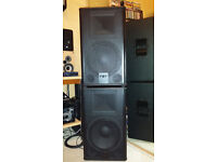 FBT VERVE 12 ,300W RMS,, PROFESSIONAL PASSIVE SPEAKERS ,MADE IN ITALY,,VERRY GOOD CONDITION