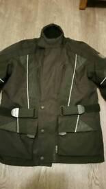 Woman's waterproof motorcycle jacket