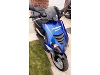 Piaggio nrg DD power 50cc blue