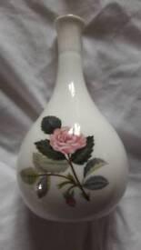 Wedgwood Hathaway Rose vase