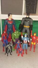 Superhero figure