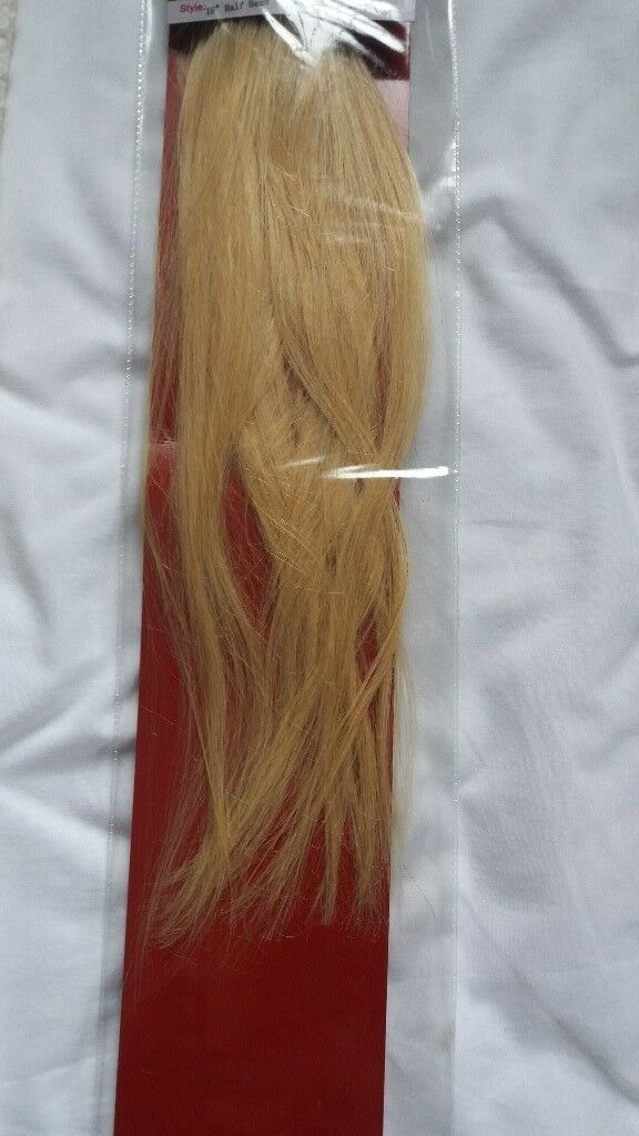 Light Blonde 18 Inches Long Hair Extensions In Dundonald Belfast