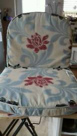2 cushions for Ercol chair and extras