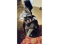 Full set irons Ben Sayer plus wilson hybred and 3w Nike golf bag £70