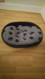Dog bed, cage &accessories