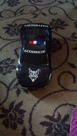 Toy car black Automotion cosmocop