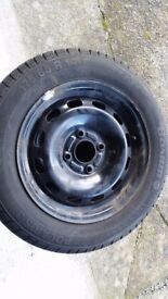 4X Ford Fiesta Winter Tyres on Steel Wheels / Rims